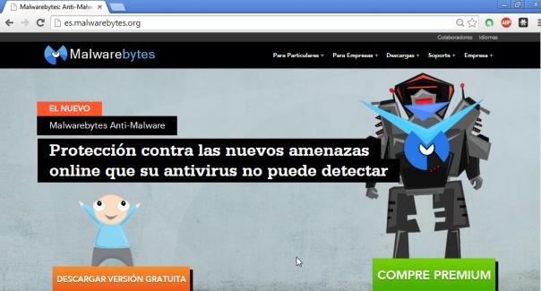 Malwarebytes - Pantalla 2