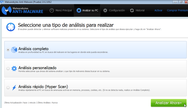 Malwarebytes - Analizar PC 2