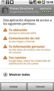 Los permisos en Android